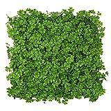 WAA Simulazione Pianta Muro Balcone Plastica Pianta Verde Muro Trifoglio Decorazione Prato Fiore Appeso a Parete Porta Testa Balcone Coperto Tappeto erboso