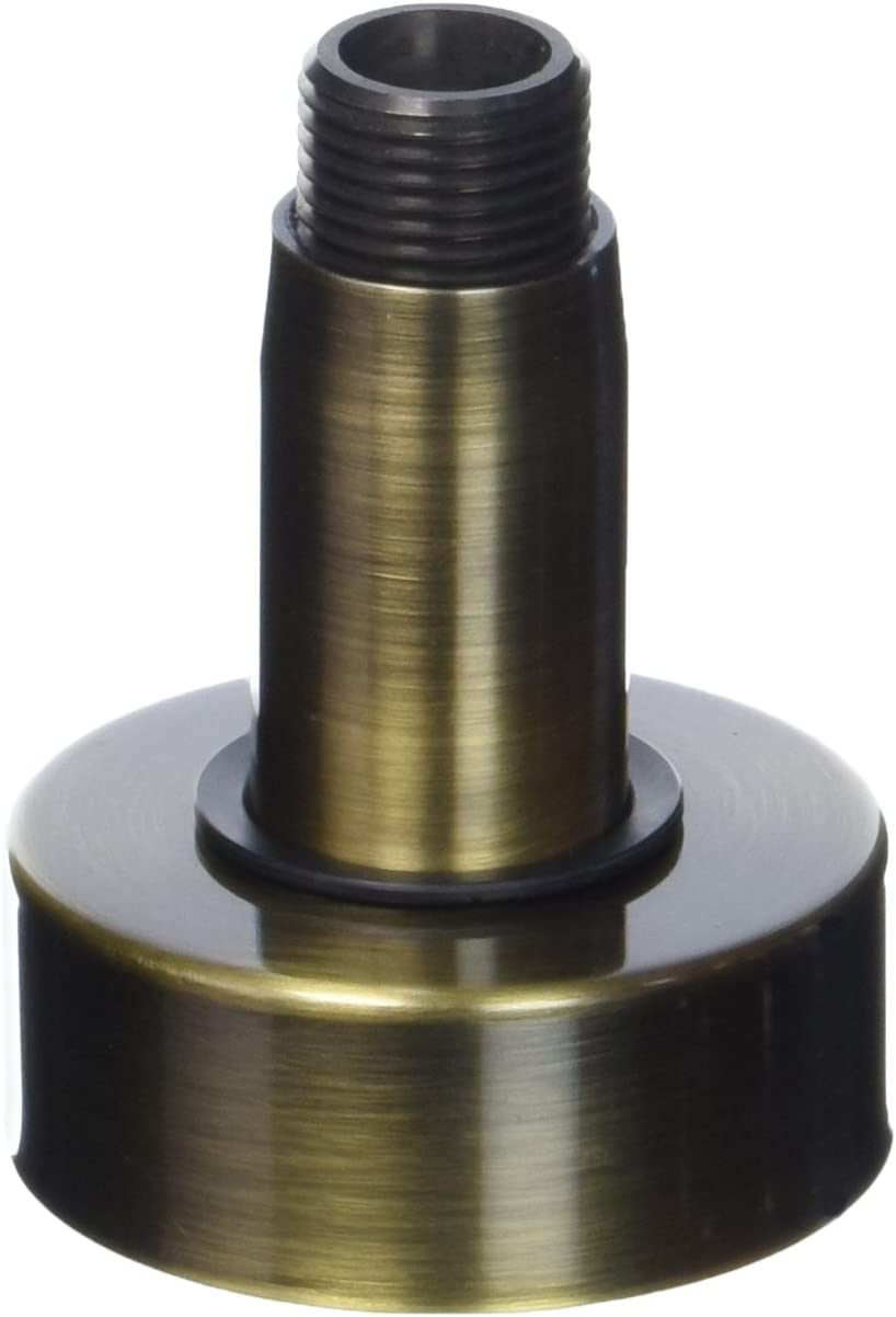 3 Antique Brass Jaclo 8078-AB Brass Vertical Drop Showerarm