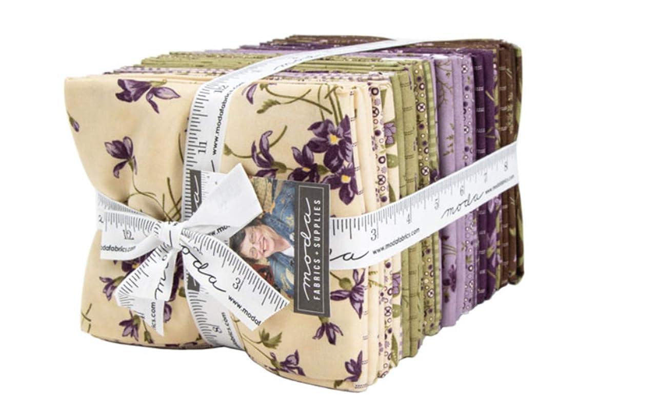 Sweet Violet 36 Fat Quarter Bundle by Jan Patek for Moda Fabrics