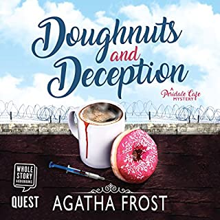 Doughnuts and Deception audiobook cover art