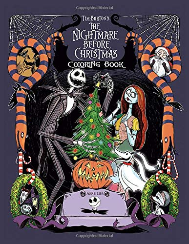 The Nightmare Before Christmas Coloring Book: This is a must have for NBC fans! Nice Book Cover With Velvety Finish. The Book Itself Is Just Like The ... In It. A Great Quality Coloring Book.