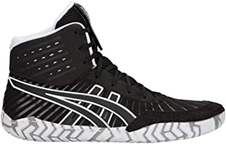ASICS Men's Aggressor 4 Black/Black 8.5 D US