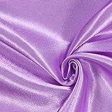 Fabulous Fabrics Satin Flieder, Uni, 148cm breit –