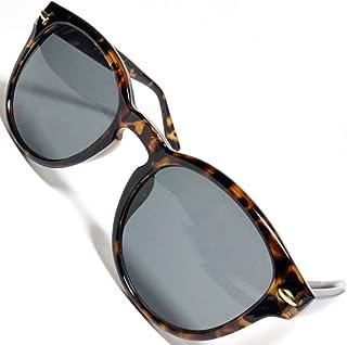[Berkut] 【フルモデルチェンジ】サングラス 伊達メガネ クロブチ 色付き 丸型 軽量 疲れにくい 目にやさしいレンズ 1040099