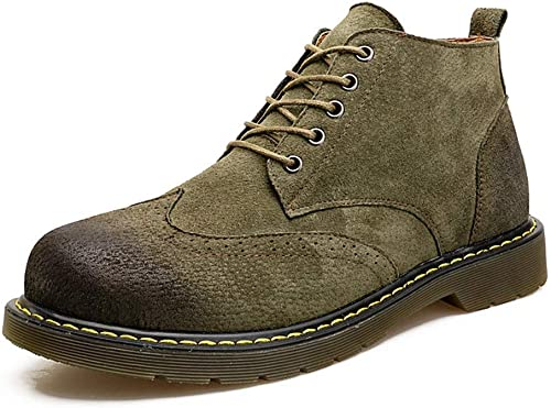schuhe para Hombre Stiefel Martin Stiefel de Cuero Stiefel Altas schuhe .schuhe de Moda