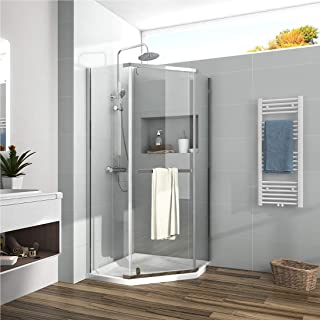 Best frameless shower door neo angle Reviews