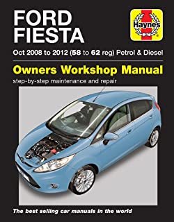 Ford Fiesta: (Oct '08-'12) 58 to 62