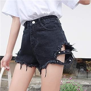 Lishfun Wholesale 2019 New Spring Autumn Casual Sexy Denim Shorts Outerwear BA243
