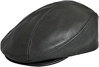 leather pub cap