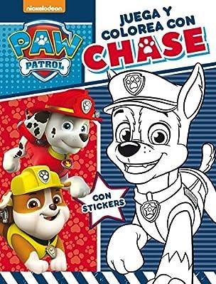 Juega y colorea con Chase (Paw Patrol   Patrulla Canina. Actividades) de ALTEA