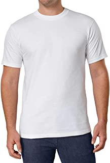 Kirkland Signature Men's Crew Neck T-Shirts 100% Cotton (Pack of 6)
