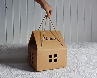 Casa personalizada para bebé o niño. Un regalo original, decorativo y personalizado, perfecta para presentar diferentes re...
