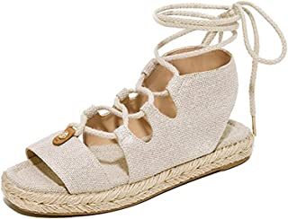 MICHAEL Michael Kors Womens McKenna Lace Up Sandals