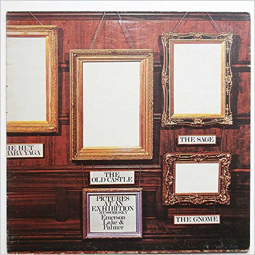 Emerson Lake & Palmer Pictures At An Exhibition LP Manticore K33501 EX/VG 1970s