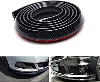 Lypumso Selbstklebend Frontspoilerlippe,2.5M Universal Tuning Frontspoiler Protector aus..