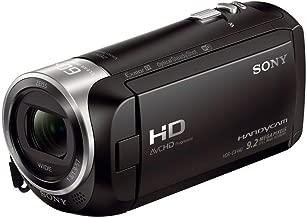 Sony HDR-CX440 Handycam - 8GB Wi-Fi 60p HD Camcorder (Renewed)