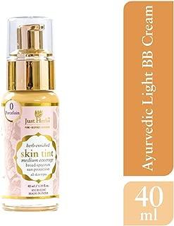 Just Herbs Skin Tint Natural & Ayurvedic BB Cream With Sun Protection, 40 ml