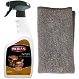 Weiman Leather Cleaner and Polish for Furniture & Car...