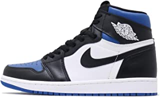 Nike Mens 1 Retro Royal Toe Black/White/Game Royal Leather Size