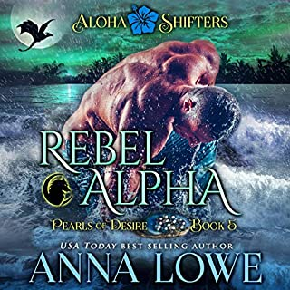 Rebel Alpha audiobook cover art