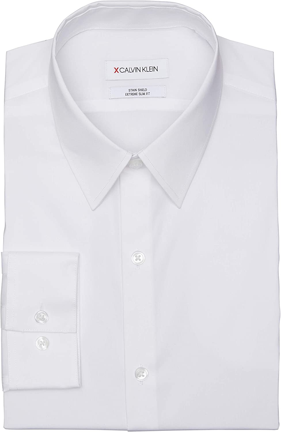 Calvin Klein Men's Dress Shirt Xtreme Slim Animer and price Ranking TOP14 revision Shield Stre Stain Fit