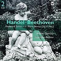ヘンデル:組曲第9番~第16番/ベートーヴェン:ピアノ・ソナタ