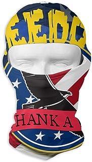 Navy Defending Freedom Balaclava - Windproof Ski Mask - Motorcycle Full Face UV Protection Mask Multicolor2
