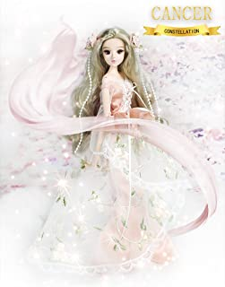 fortune days Mystery Magic Girl BJD doll 12 inch Twelve constellation series doll (CANCER)