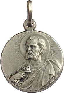 Medalla de San Pedro el Apóstol de plata maciza 925 - Las medallas de los Patronos