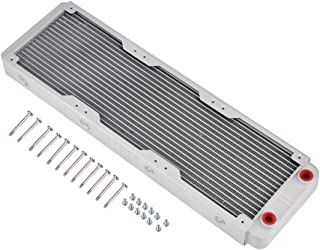 Richer-R Cambiador de Calor Radiador de Enfriamiento,G1 / 4 Tubo de Refrigeración por Agua para PC,Equipos de Belleza,Equipos de Impresión 3D,Purificadores de Aire, LED,etc.(Blanco)(360mm)