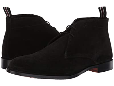 CARLOS by Carlos Santana Corazon 2.0 Chukka Boot (Black Calfskin Suede) Men