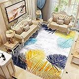 Color Alfombras Pequeñas Arte Abstracto en Color Antideslizante...