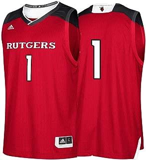 adidas Rutgers Scarlet Knights NCAA 1 Maroon Replica Basketball Jersey