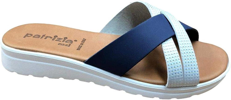 P13 Sandalo Donna Ciabatta Mare Piscina Spa Incrociato Art