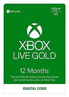 عضوية Xbox Live Gold لمدة 12 شهرًا