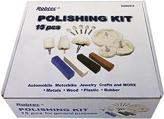 Assorted, Fine 00#, Medium 1# x Coarse 2# x 4pcs Robtec Steel Wool Pads