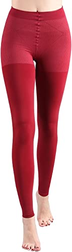 +MD 15-20mmHg chaussettes de compression pour femme Chaussettes de compression à bout ouvert Pour l'hiver