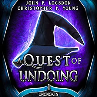 A Quest of Undoing audiobook cover art