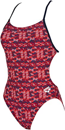 Arena Network Booster Back Female Red Multi 32
