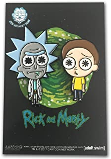 Licensed Rick and Morty - Lil' Rick & Morty Two Pin Set - enamel pins