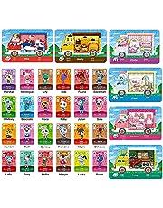 30 stks Sanrio Amiibo Zeldzaam Karakter Villager Cards voor Animal Crossing New Horizons, Acnh Game Cards voor Switch/Switch Lite/Wii U/NEW 3DS (24 NFC-kaart + 6 Sanrio-kaart)