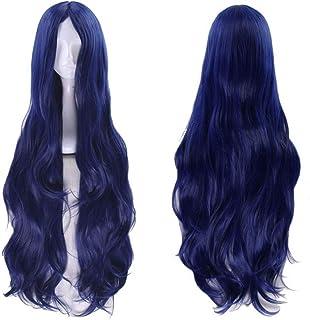 Shumeier Shirogane Tsumugi Long Curly Wig Cosplay Costume Dangan Ronpa Wigs