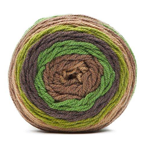 Caron Cakes Self Striping Yarn 383 yd/350 m 7.1 oz/200 g (Pistachio Fudge)