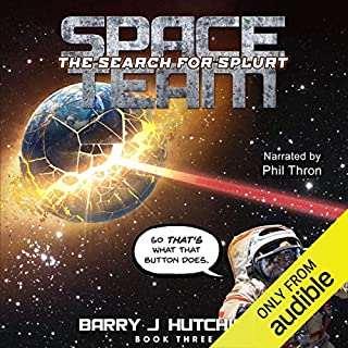Space Team: The Search for Splurt audiobook cover art