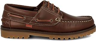 PAYMA - Chaussures Bateau Sport pour Homme Femme Enfant Garçon Unisexe en Cuir. Grandes Pointures 46 47. Fermeture Lacets ...