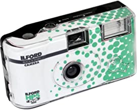 Ilford HP5 Plus Disposable Camera with Flash, Green (HP5+)