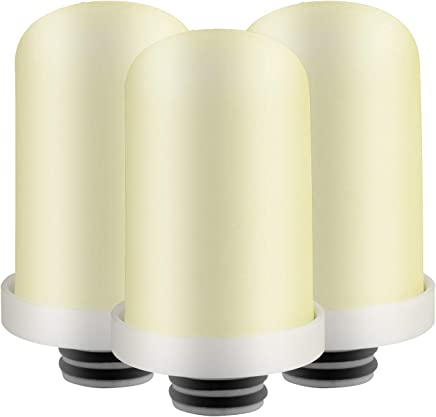 Geekpure Replacement Filter Set for Advanced TF-3 Faucet Water Filteration (Pack of 3)
