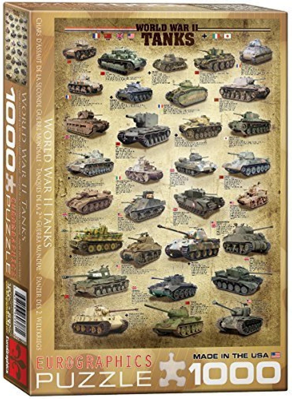 calidad de primera clase Eurographics Eurographics Eurographics World War II Tanks Puzzle (1000 Pieces) by Eurographics  barato y de alta calidad