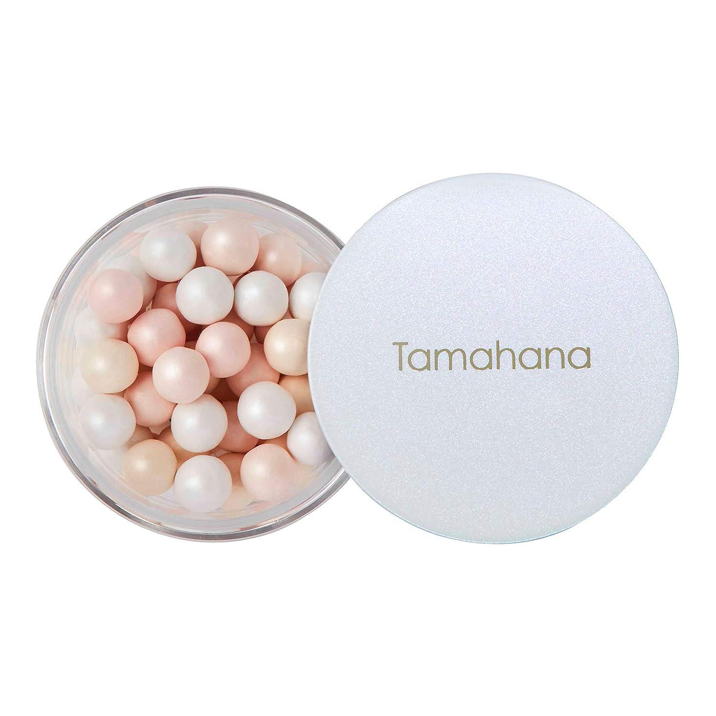 チャンバークリスマス不愉快にTamahana(タマハナ) シャイニー ブライトニングルースパウダー パフ付 <フェイス?ボディーパウダー>