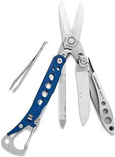 LEATHERMAN - Style CS Keychain Multi-Tool, Stainless Steel - Blue